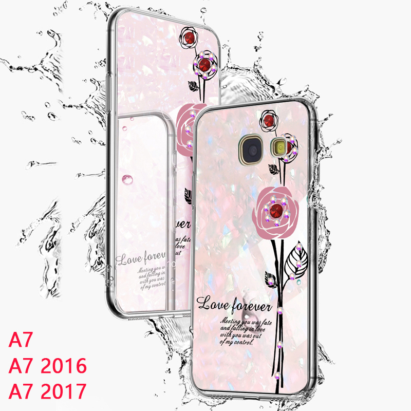 YonLinTan 2 in 1 Silicone Silicon + hard pc Coque,cover,case For Samsung galaxy A7 2016 A710 A7 2017 A720 2015 phone back on