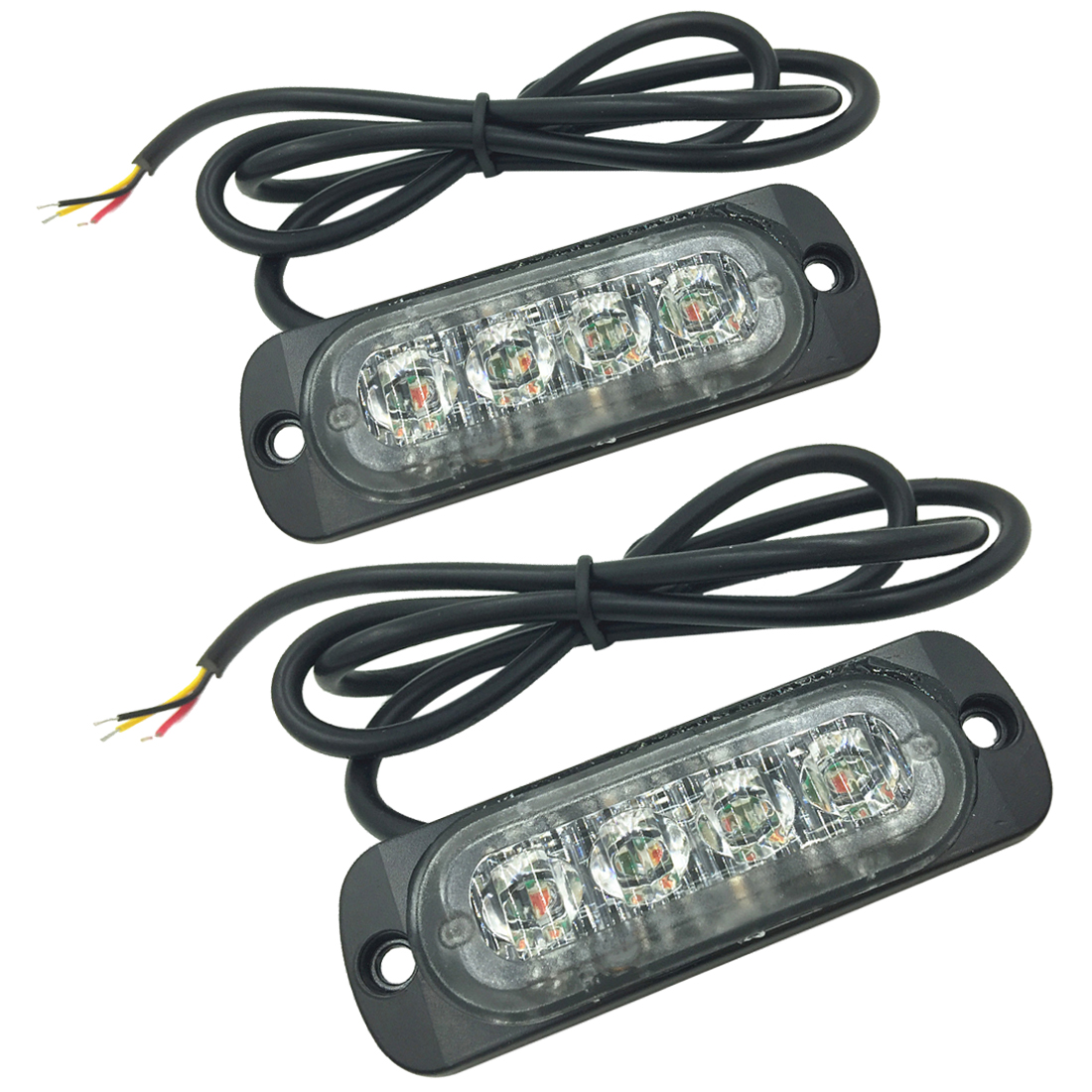 MOOL 2 X LED Car Truck Vehicle Emergency Recovery Flash Strobe Breakdown Light