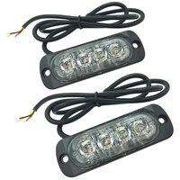 MOOL 2 X LED Car Truck Vehicle Emergency Recovery Flash Strobe Breakdown Light