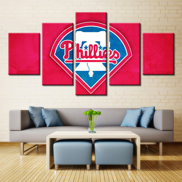 Baseball Modular High Quality Pictures Oil Painting Canvas Wall Art For Living Room Decor Customize Your