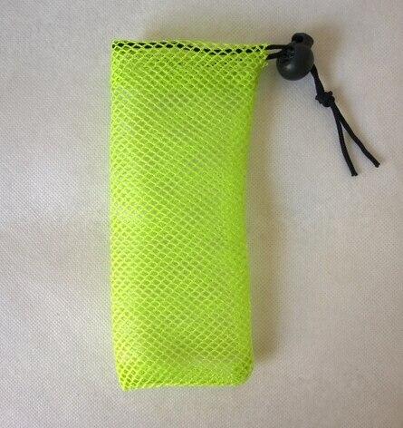 CBRL 100pcs/lot drawstring mesh bag mesh laundry bag mesh gift pouch custom 8*25cm mesh bag for gift golf ball jewelry