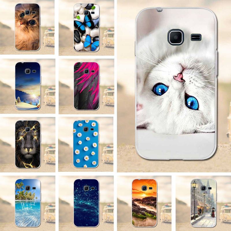 Case for Samsung Galaxy J1 Mini Phone Case Silicone Soft TPU Luxury Print Back Cover for Samsung Galaxy J1Mini J105F J105H Cases