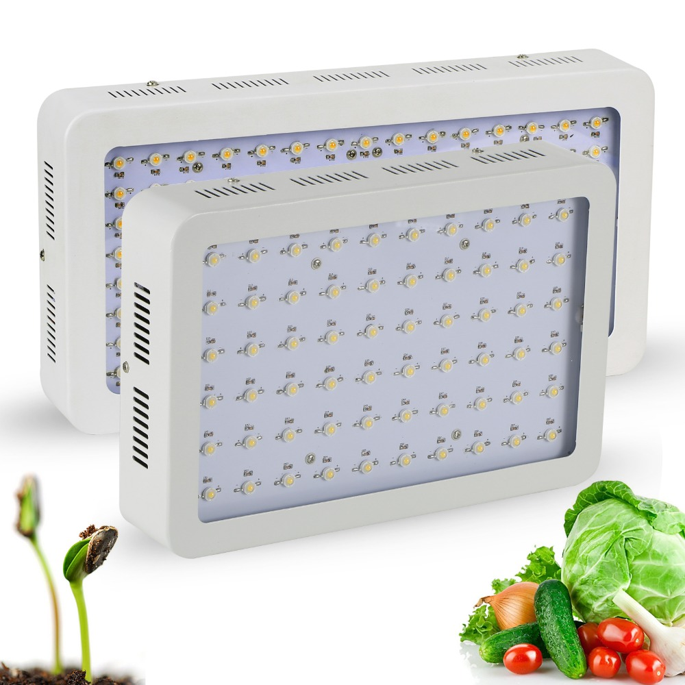 Newest Full Spectrum 5W series 300W/600W LED Grow Light for all stage of plants growth Hydroponic greenhouse grow box/tent gundam rice cooker