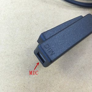 Image 4 - 長い大きなptt空気管headphoenforモトローラmth800 mth850 mtp850 MTS850 mth600 mth650 etcトランシーバー
