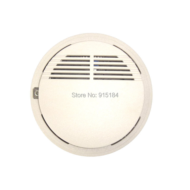 Adaptable 2pcs Sensor Sensitive Photoelectric Home Independent Alarm Smoke Detector Fire Alarm Alone Sensor For Family Guard Fire Protection