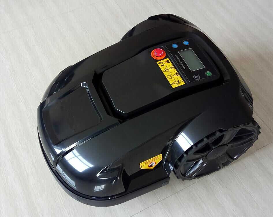 Новый робот управления Wi-Fi стеклянный резак газон mover С датчиком дождя, график очистки, защита от кражи и водонепроницаемый