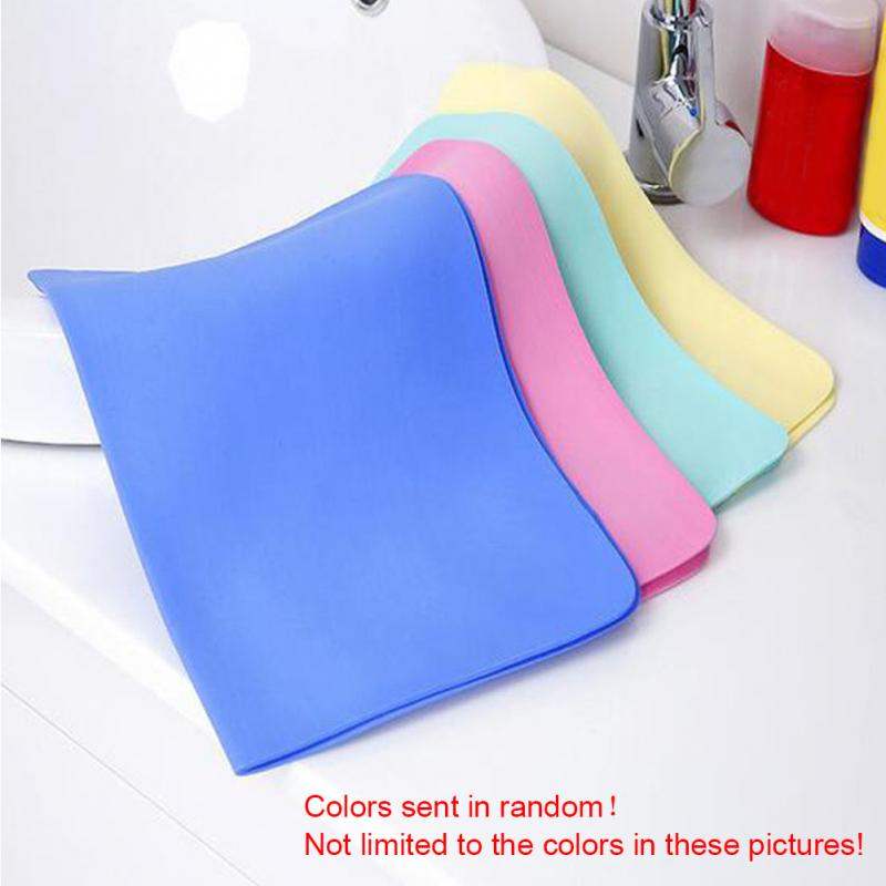 Synthetic Chamois Leather Absorb Car Washing Wipe Towel Cloth
