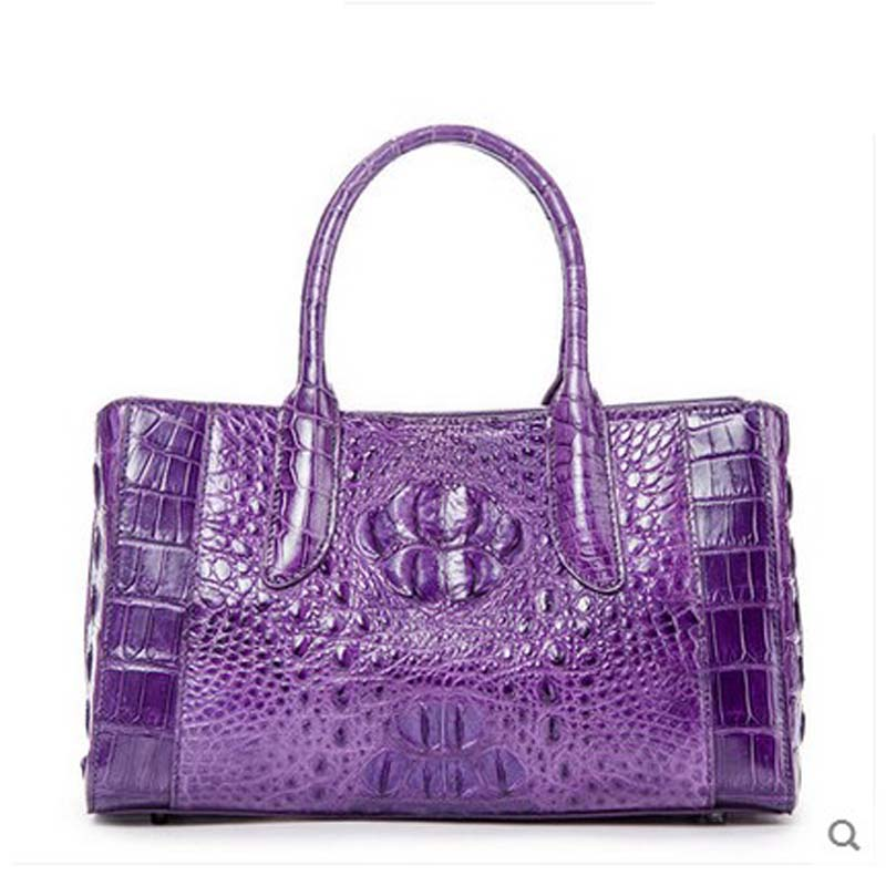 ouluoer crocodile leather female women bag 2017 new handbag women's shoulder bag lady handbags Thailand delin foreign female bag bag handbag shoulder aslant crocodile grain lady handbags package a undertakes the new trend