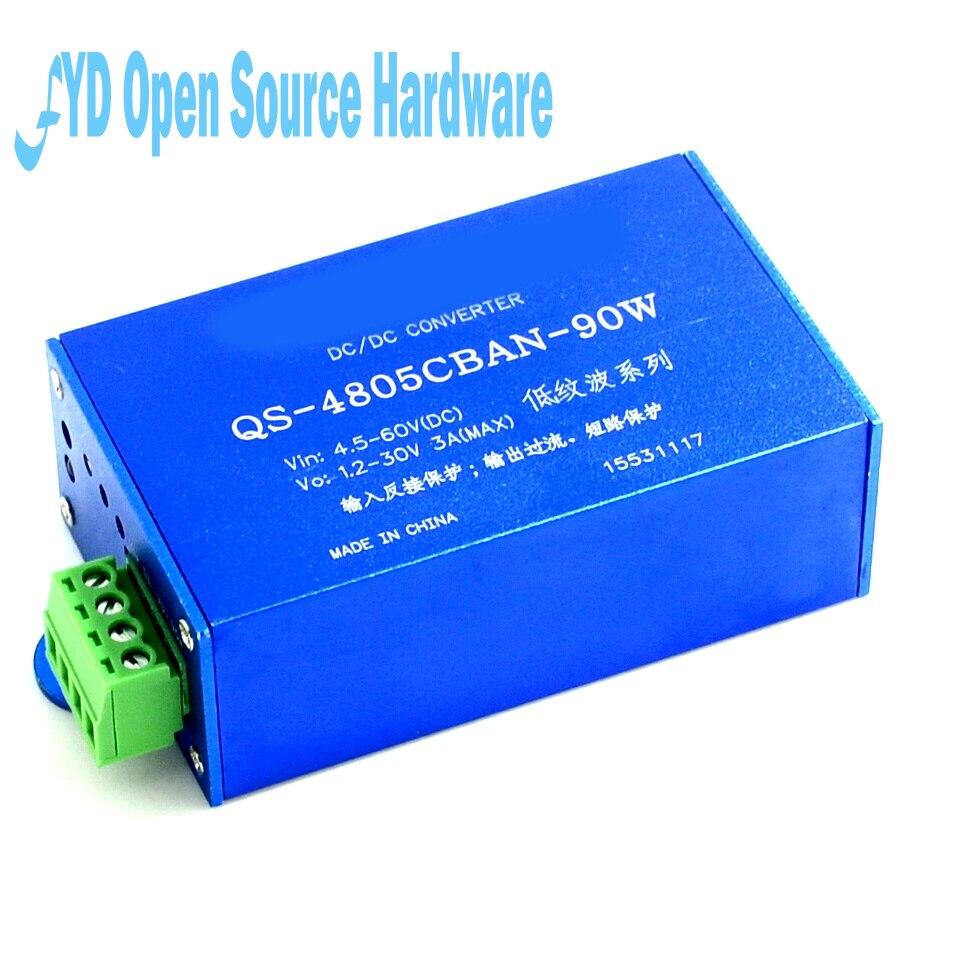 90 W ondulazione bassa power module DC-DC 4.5-60 V girare 1.2-30 V tensione regolabile90 W ondulazione bassa power module DC-DC 4.5-60 V girare 1.2-30 V tensione regolabile