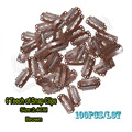 100pcs Wig Clips Wholesale 24mm Brown Wig Cap Clips Hair Clips For Extensions