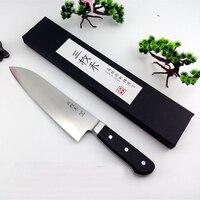 Japoński Narzędzia narzędzia do gotowania sushi z rattanu/sashayed/Professional sashimi nożem ryb tasak nóż w kuchni kran ciepłej w globalnym
