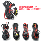 1Pc Xenon HID Conversion Kit Relay Wiring Harness For HID Conversion Kit Add On Fog Light LED DRL CSL2017