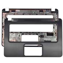 цены New Laptop Palmrest keyboard Upper Case For HP ENVY 6-1000 6-1006SA Laptop keyboard Bezel Cover 691137-001 686097-001 Black
