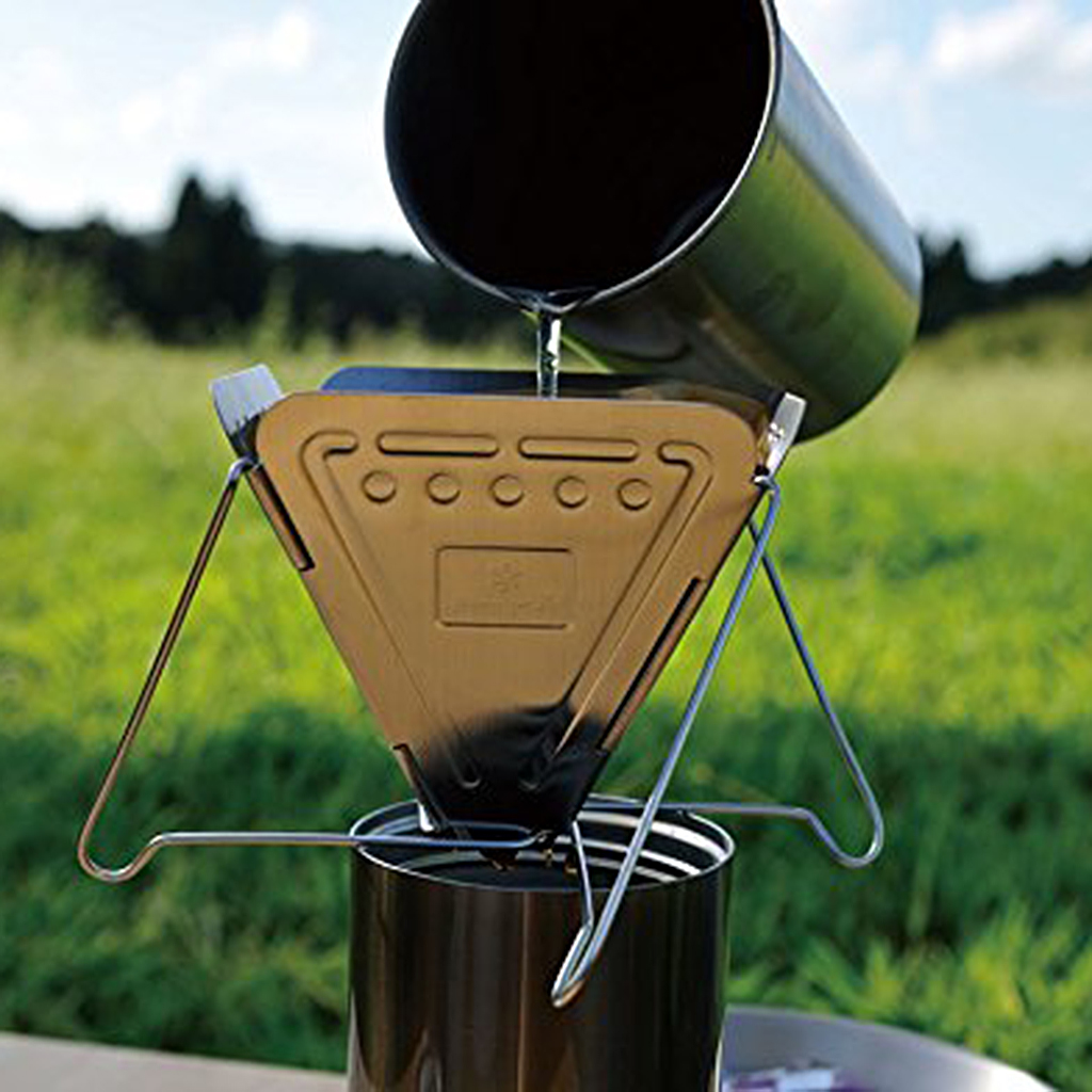 Stainless Steel Folding Coffee Drip Filter Stand Coffee Dripper Outdoor Cookware Durable 10cm for Home Travel Camping Picnic