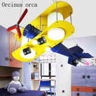 Креативная мультяшная авиационная Люстра для детского сада, детская комната для мальчиков и девочек, современная светодиодная Люстра для з... - 3