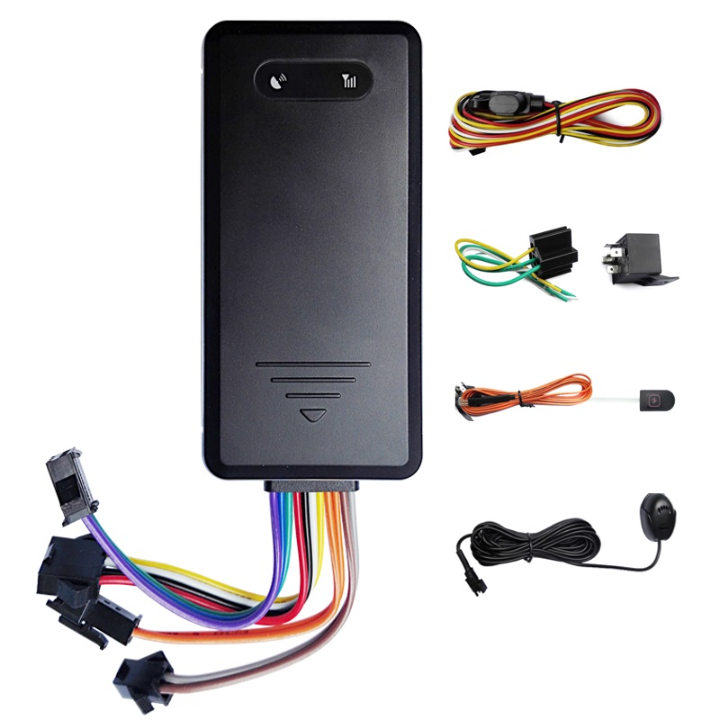 Free shipping Professional built in battery GSM font b GPS b font tracker for motorcycle vehicle