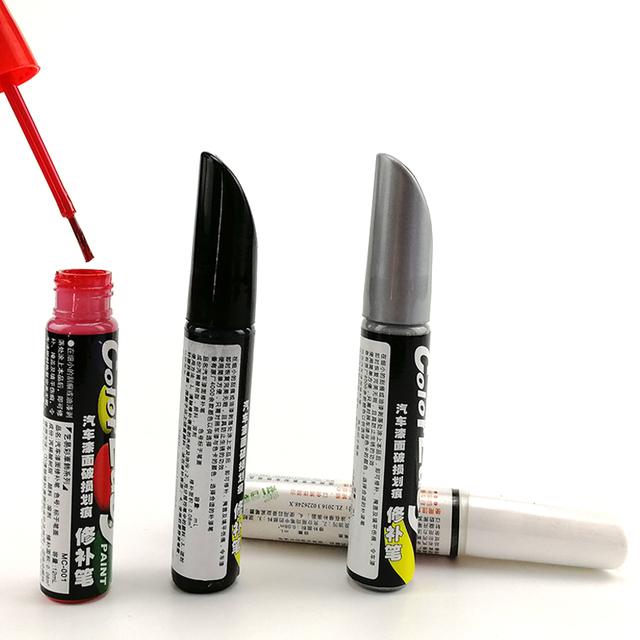 White red black silver color Pro Mending Car Remover Scratch Repair Paint Pen Clear Paint Care for car repair
