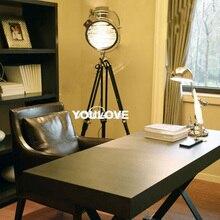 Nordic Tripod Floor Lamps Vintage Stage Camera Photography Lights Search Lights Home Indoor Floor Lights Fixture