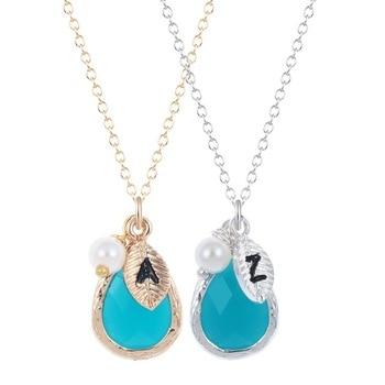 QIAMNI Colorful Zircon Round Petite Allah Necklace Gold Color Name God Arabic Muslim Necklace Kuran Gift Islam Wedding Jewellery