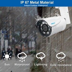 Image 3 - H.265 IP กล้อง 4MP ซูมอัตโนมัติ 4X เลนส์มอเตอร์ 2.8 มม. 12 มม.HI3516D 1/3 OV4689 IP67 กลางแจ้งกันน้ำ Bullet CCTV