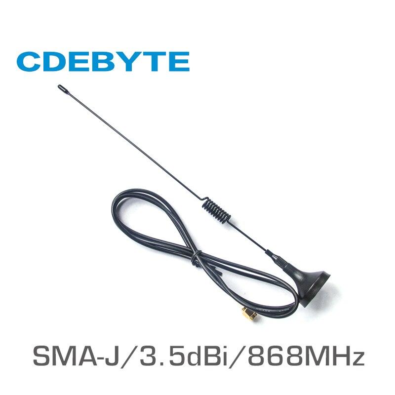 TX868-XP-100 Antenne wifi 868 MHz haut Gain 3.5dBi SMA-J Antenne à ventouse longue portée Antenne omnidirectionnelle