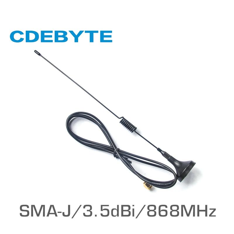 TX868-XPL-100 868MHz Wifi Antenna High Gain 3.5dBi SMA-J Sucker Antena Long Range Omni Directional Antenne