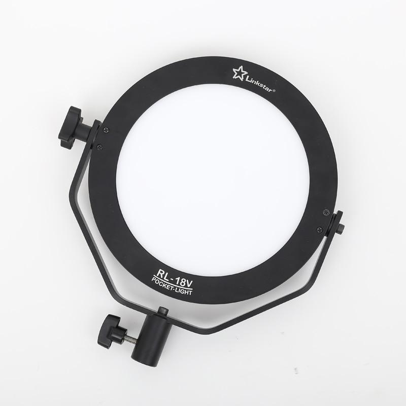 Linkstar 18W LED svetilka 5600K okrogla ultra tanka dnevna svetloba - Kamera in foto - Fotografija 5