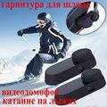 2pcs Original Ski Intercom 1000M Bluetooth Interphone Headset Snowboard Helmet Speakers Intercom 2 Riders BT Intercom With FM