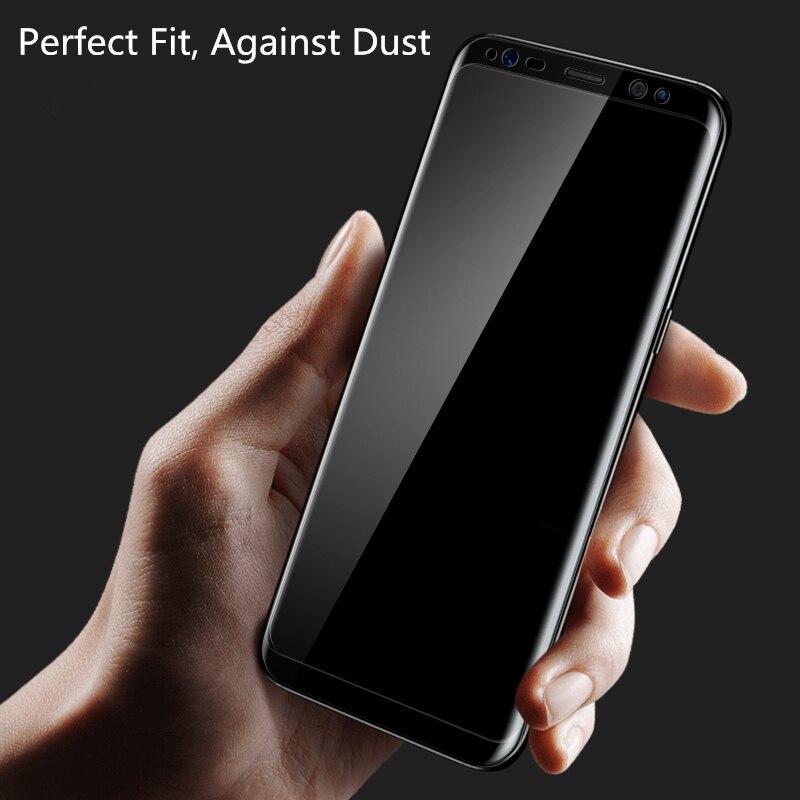 Untuk Samsung Galaxy S8 S8 Ditambah 0.26mm 9 H 3D Melengkung Kaca - Aksesori dan suku cadang ponsel - Foto 6