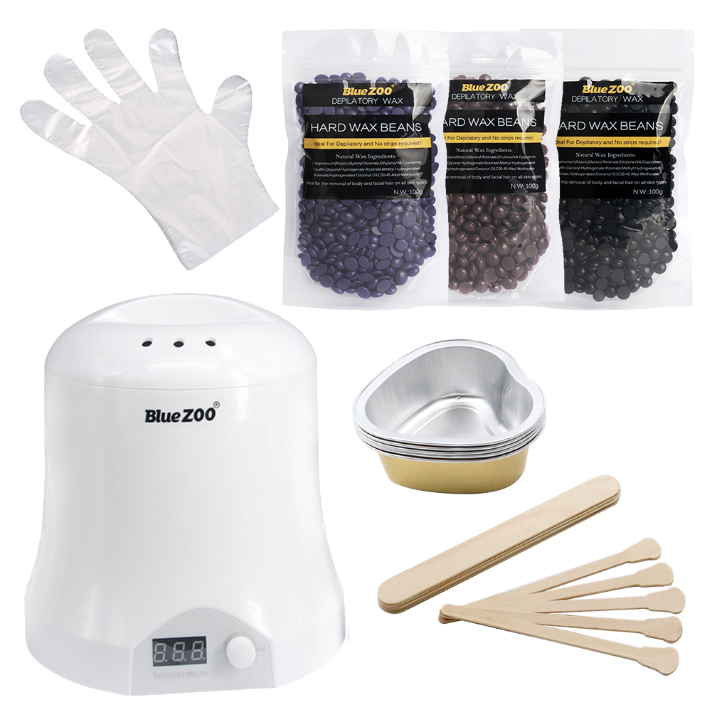 цена на Natural Ingredients Wax Pellet Warmer Hair Removal Machine Beauty Salon whole Waxing Hot Wax Heater Epilage Depilatory Tools