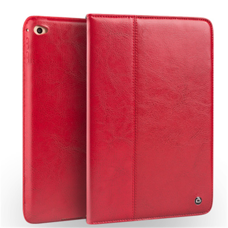For iPad mini4 Genuine Real leather Case Ultra-slim Wallet Stand cases Cover Shell For Apple iPad mini 4 Protective Stand Skin icarer retro case for ipad mini 4 7 9 new fashion real leather flip tablet case cover for apple ipad mini4 7 9 protective stand