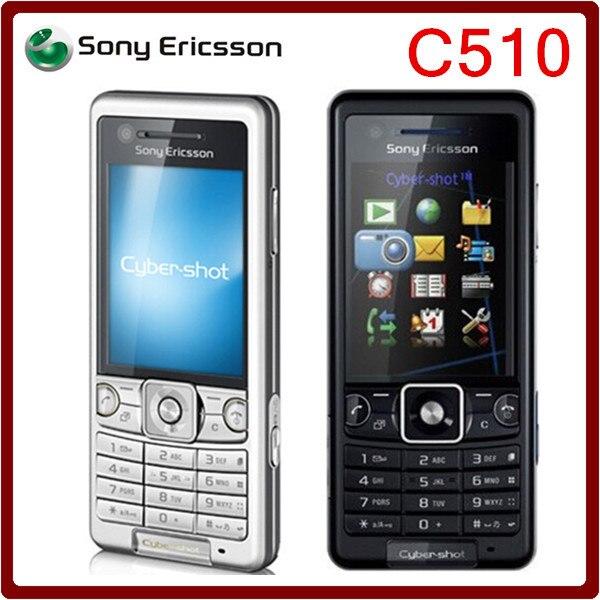 Цена за C510 Оригинальный Разблокирована Sony Ericsson C510 GPS Bluetooth 3 Г 3.15MP Восстановленное Сотовый телефон Бесплатная доставка