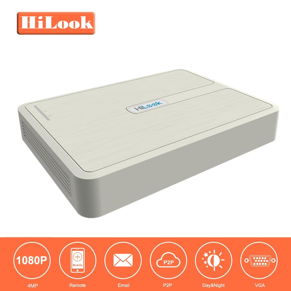 HiLook 4/8ch CCTV System Onvif NVR-104-B/4P & NVR-108-B/8P Hikvision 4/8 Channel Mini PoE NVR for IP Camera Recording Up to 4MP hikvision 1080p cctv system onvif 4ch nvr ds 7604ni e1 4p economic poe nvr plug