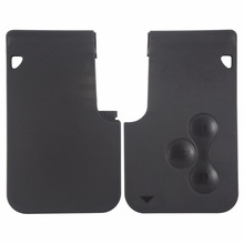 3 Buttons Key Card Case For Renault Clio Megane Scenic Grand Scenic Car Remote Key Cover