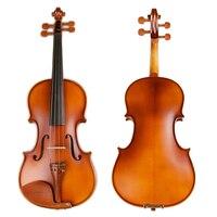4 4 Professional Handmade Natural Pattern Violin High End Antique Violin Musical Instrument