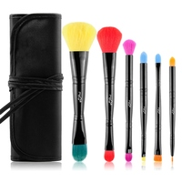 MSQ Pro 6pcs Makeup Brushes Set Powder Foundation Eyeshadow Make Up Brushes Cosmetics Soft Synthetic Hair
