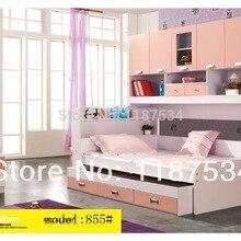 855 Children furniture sets chest garderobe armoire Wardrobe