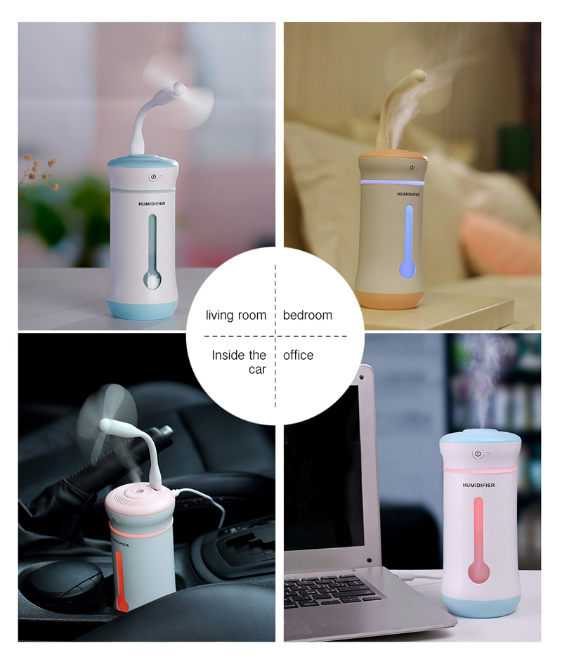mini car air humidifier diffuser essential oil