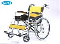 Manuel Cofoe Yiqiao stopu Aluminium składane i lekki Wózek z hamulca