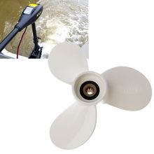 Alloy Boat Engine Prop Propeller 7 1/2x7 BA Blade Parts For Yamaha Outboard 2.5-6 HP Engine boat engine propeller 7 1 4x6 bs for yamaha 2 5hp 3hp 4hp 5hp f2 5a 3a malta outboard motor 7 1 4 x 6 bs free shipping