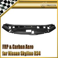 Samochód stylizacji FRP Włókna Szklanego Garaż Panel Bronić Styl Chłodzenia Slam Fit Dla Nissan Skyline R34 GTR
