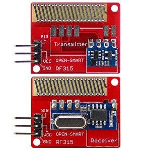 Image 1 - OPEN SMART Long Range 315MHz RF Wireless Transceiver Kit for Arduino LORA Board Mini RF transmitter receiver module 315 MHz Kit