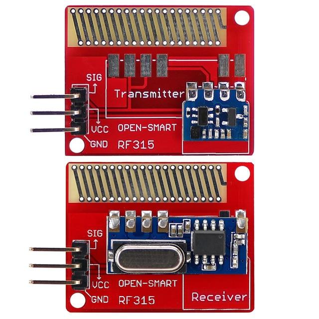 OPEN SMART Long Range 315MHz RF Wireless Transceiver Kit for Arduino LORA Board Mini RF transmitter receiver module 315 MHz Kit