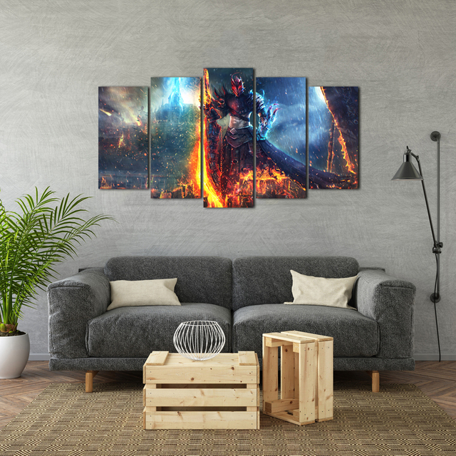 Modern Posters And Prints Oil Painting Canvas Wall Art Pictures For Living Room Home Decoration Free Shipping Abooly 3