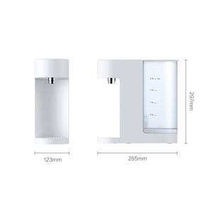 Image 5 - Viomi desktop dispensador de água 2l aquecimento instantâneo dispensador de água quente barra de leite do bebê parceiro aquecedor beber