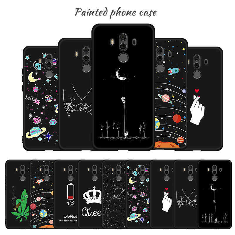 Pattern Phone Case For Huawei Honor 10 9 Lite Note 10 Cosmic Starry Sky Painted Case For Honor 7X 8X Max Magic 2 Soft TPU Covers