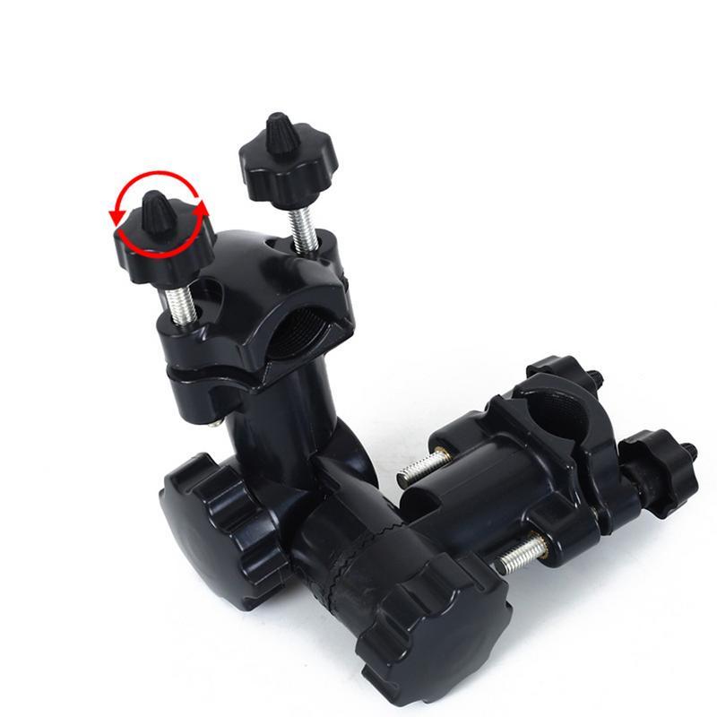 Multi-función universal paraguas soporte de ajuste de velocidad de la silla de pesca accesorios de batería Universal paraguas bracke