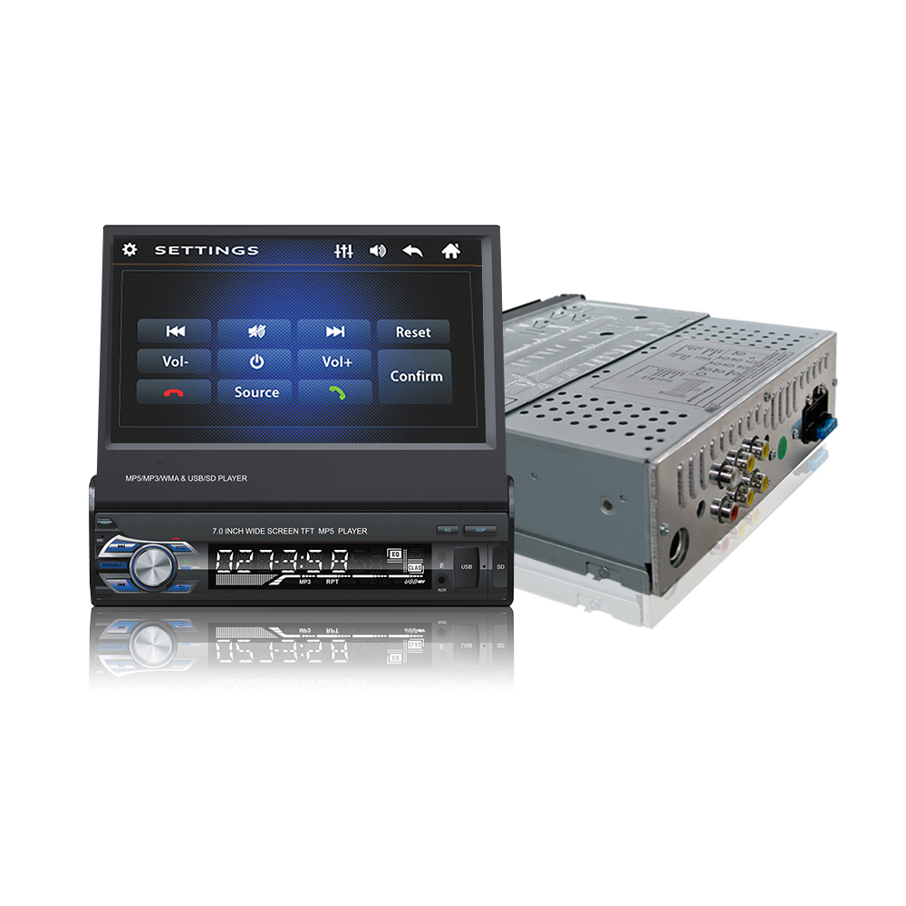 1 Din-Car-Video-MP5-Player-7-Inch-HD-Touch-Screen-Bluetooth-FM-Radio