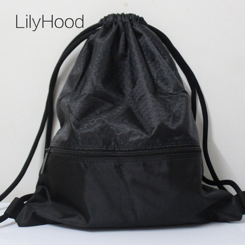Aliexpress.com : Buy LilyHood 2017 Women Men Nylon Plain Black ...