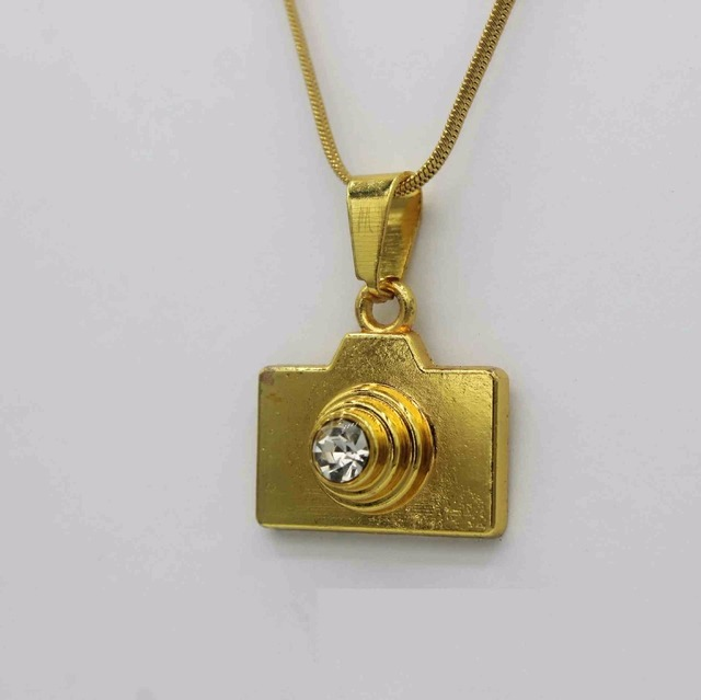 Mini camera necklaces pendants snake chain trendy new men jewelry mini camera necklaces pendants snake chain trendy new men jewelry women golden chain men jewelry mozeypictures Image collections